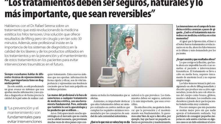 Los tratamientos deben ser seguros, naturales y lo más importante, que sean reversibles