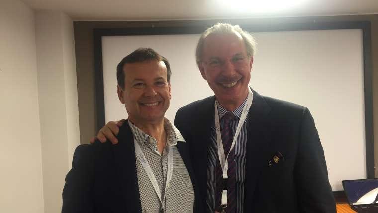 El Prof. Leonardo Marini y el Dr. Rafael Serena imparten el Nuovi percorsi in Dermatologia e Medicina Estetica en Milán